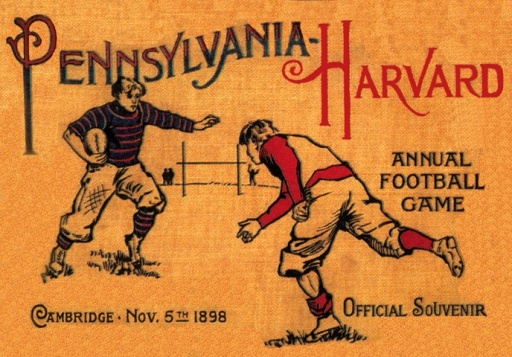 1898_Harvard_vs_Penn