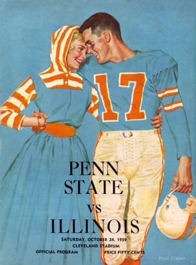 1959_Penn_State_vs_Illinois_(at_Cleveland)