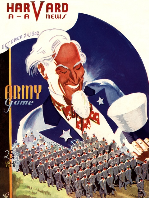 1942_Harvard_vs_Army